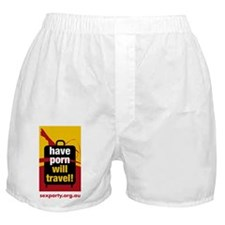 Have Porn Will Travel 2 Boxer Shorts