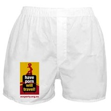 Have Porn Will Travel 1 Boxer Shorts