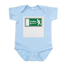 Icelandic Exit Infant Creeper