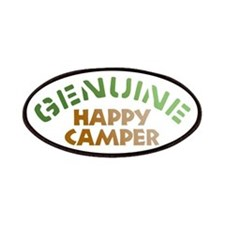 Genuine Happy Camper Patches