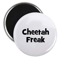 Cheetah Freak Magnet
