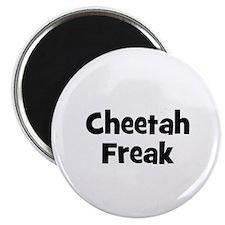 Cheetah Freak Magnet