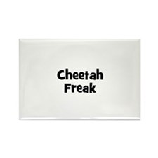 Cheetah Freak Rectangle Magnet (10 pack)