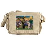 ST. FRANCIS + OES Messenger Bag