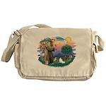 St. Francis #2 / Papillon Messenger Bag