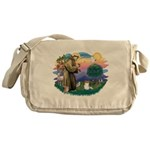 St.Francis #2 / Papillon (sw Messenger Bag