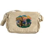 St Francis #2/ S Deer. #2 Messenger Bag