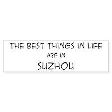 Best Things in Life: Suzhou Bumper Car Sticker