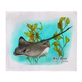 Bat Ray Throw Blanket