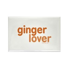 Ginger Lover Rectangle Magnet