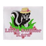 Little Stinker Kara Throw Blanket