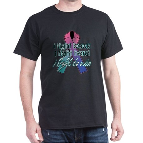Thyroid Cancer I Fight Back Dark T-Shirt