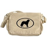 Kuvasz Oval Messenger Bag