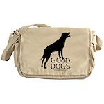 Good Dogs Messenger Bag