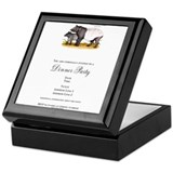 Big Belly Seahorse Keepsake Box