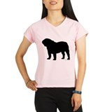 Bulldog Outline Performance Dry T-Shirt