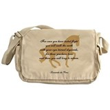 Cool Equestrian Messenger Bag