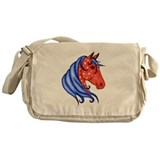 America Horse Messenger Bag