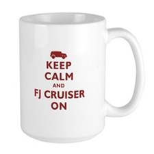 Keep Calm and FJ Cruiser On Mug