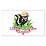 Little Stinker Katie Sticker (Rectangle 10 pk)
