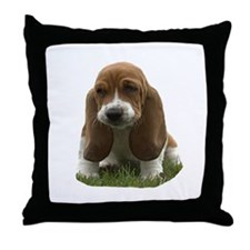 Bassett Throw Pillow