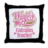 Calculus Teacher Gift Throw Pillow