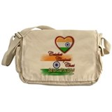 Cricket, chapati, chai - Messenger Bag
