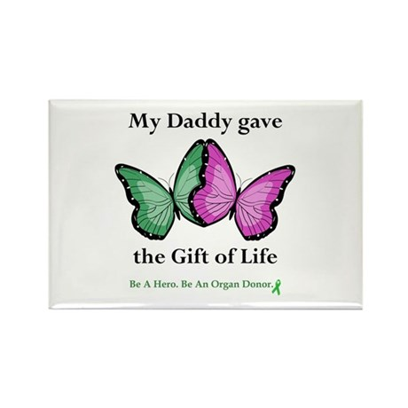 Daddy Gift Rectangle Magnet