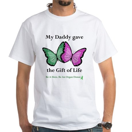Daddy Gift White T-Shirt