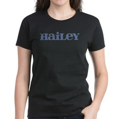 Hailey Blue Glass Women's Dark T-Shirt
