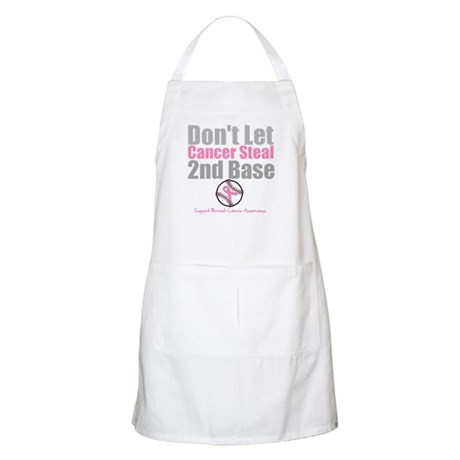 Dont Let Cancer Steal 2nd Base Apron