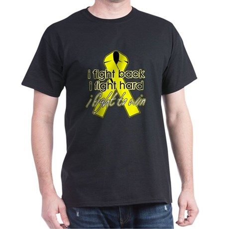 Sarcoma Cancer I Fight Back Dark T-Shirt