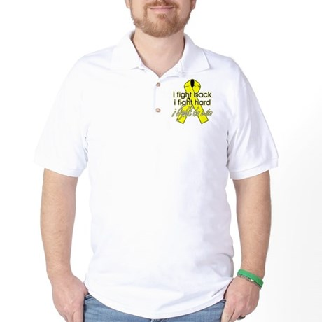 Sarcoma Cancer I Fight Back Golf Shirt