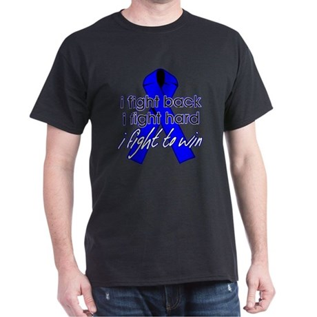 Rectal Cancer I Fight Back Dark T-Shirt