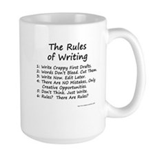 The Rules of Writing Coffee Mug