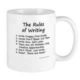 The Rules of Writing Small Mug