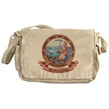 California Seal Messenger Bag