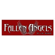 Fallen Angels Red Bumper Bumper Sticker