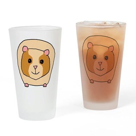 Cute Pet Guinea Pig Drinking Glass