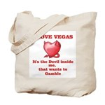 It's the Devil inside me Tote Bag