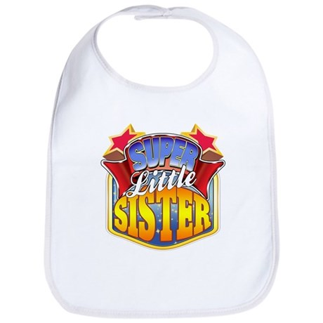 Super Little Sister Bib