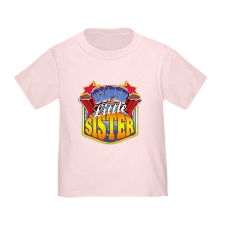 Super Little Sister Toddler T-Shirt