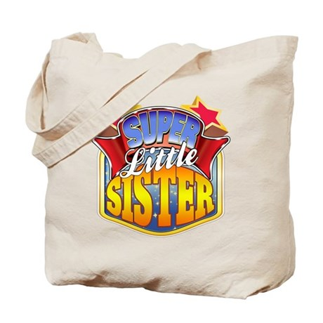 Super Little Sister Tote Bag
