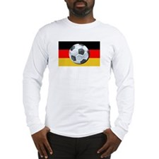 German Soccer Long Sleeve T-Shirt