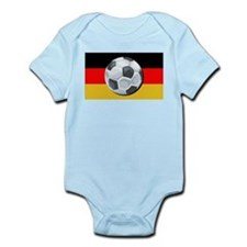 German Soccer Infant Creeper