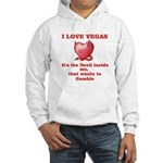 It's the Devil inside me Hooded Sweatshirt