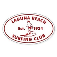 Laguna Beach Surfing Club Decal
