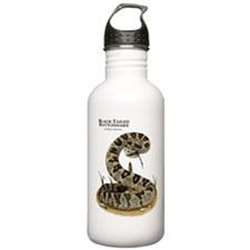 Black-Tailed Rattlesnake Water Bottle