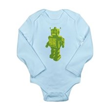 Robot Long Sleeve Infant Bodysuit