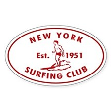 New York Surfing Club Decal